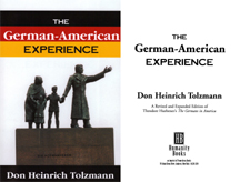 The German American Experience cover and title page
